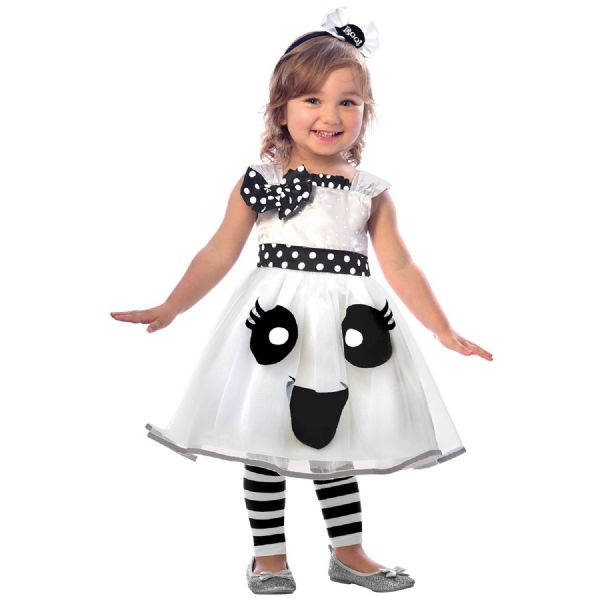 Cutie Ghost Costume Toddlers Fancy Dress Outfit